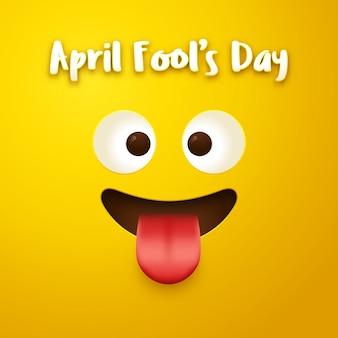 4月の愚かな日のデザイン