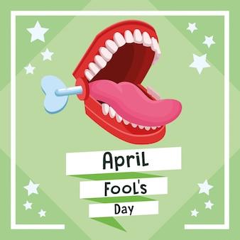 April fools day card
