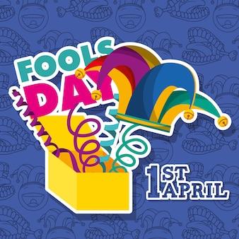 4月の愚か者の日のカード