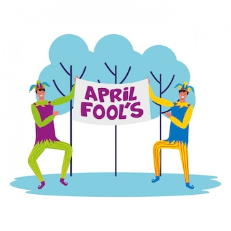 April fools day card