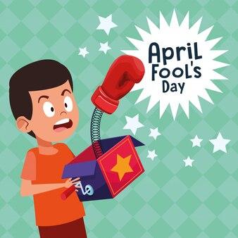 April fools day cartoon