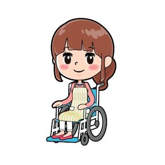Apron mom wheelchair