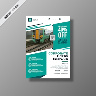 Aquamarine business brochure