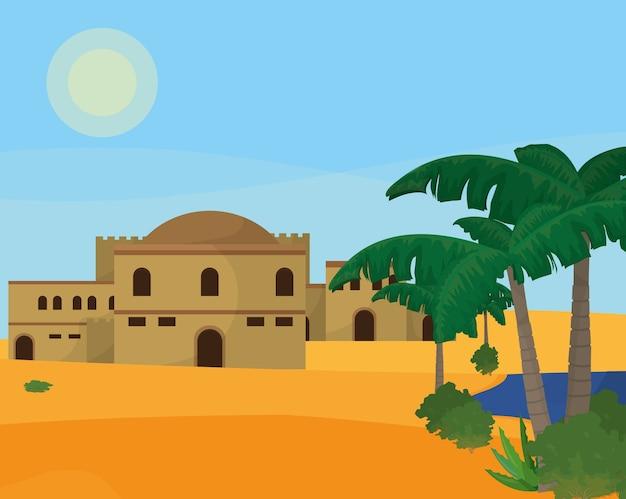 Арабский пустынный город