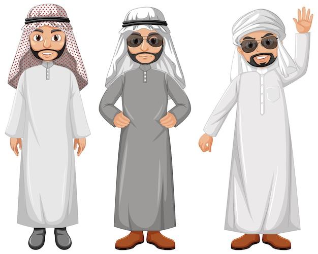アラブ人の漫画のキャラクター