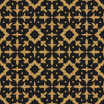라마단 카림에 대 한 아랍 동양 추상 풍의 완벽 한 패턴