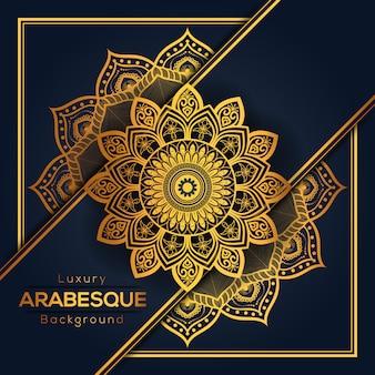 Арабеска роскошный мандала фон