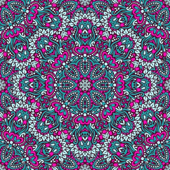 アラベスクのシームレスなパターン。