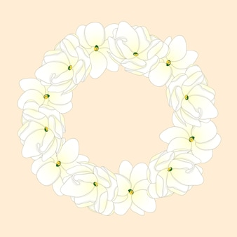 Arabian jasmine wreath