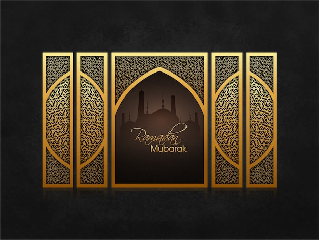 Arabian ramadan celebration mosque ramdane