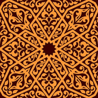 Arabian seamless tile pattern