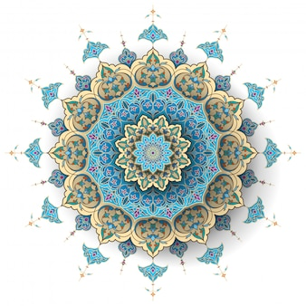 Arabic floral islamic