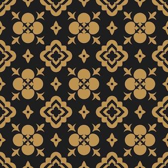 아랍어 꽃 동양 추상 풍의 완벽 한 패턴