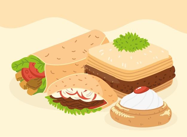 아랍 음식 주방 컬렉션
