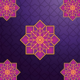 Arabic geometric ornament