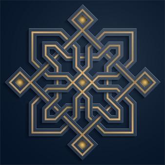 Арабский геометрический рисунок марокко орнамент