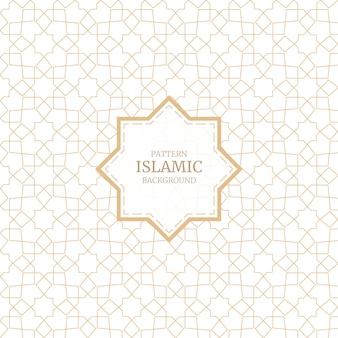 Arabic islamic style ornament decorative seamless pattern background