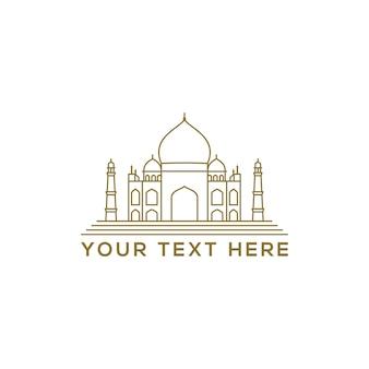 Arabic mosque icon