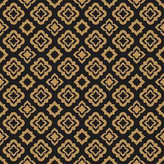 라마단 카림에 대 한 아랍어 동양 추상 원활한 패턴