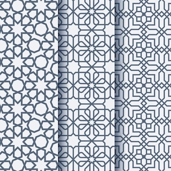 Arabic ornament geometric pattern