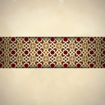 Arabic ornament islamic design background