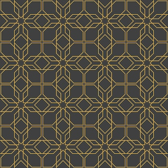 아랍어 장식품. 디자인을 위한 패턴, 배경 및 월페이퍼. 섬유 장식입니다. 벡터 일러스트 레이 션.