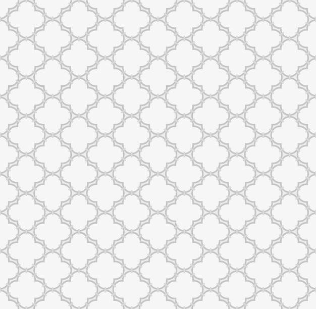 Arabic seamless pattern muslim background islamic window grid design of lantern shapes tiles