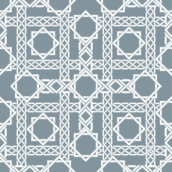 Arabic seamless pattern with intersecting stripes, islamic lines pattern. decor arabic, seamless pattern, islamic pattern asian, vector illustration