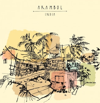 Arambol background design