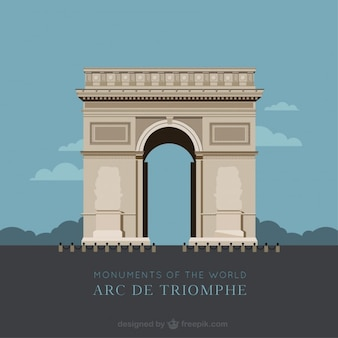 Arc De Triomphe Vectors, Photos and PSD files | Free Download
