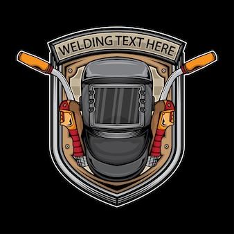 Arc welding logo