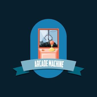Arcade machine emblem