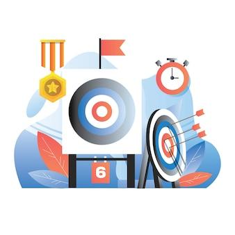 Archery dart board mark spot target