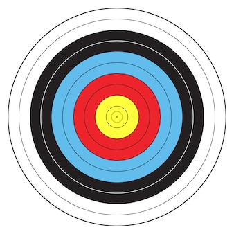 Archery sport target