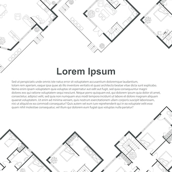 Architectural background template.