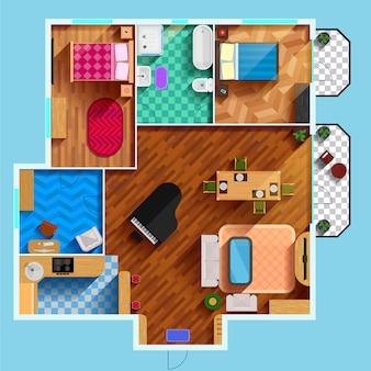Архитектурный план этажа