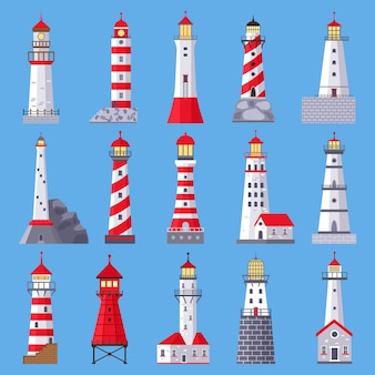 Architectural lighthouse