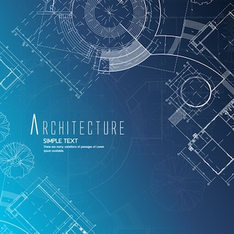 Blueprint vectors photos and psd files free download architecture background design malvernweather Choice Image