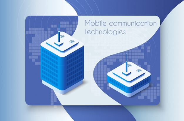 Architecture of mobile comunication technologies