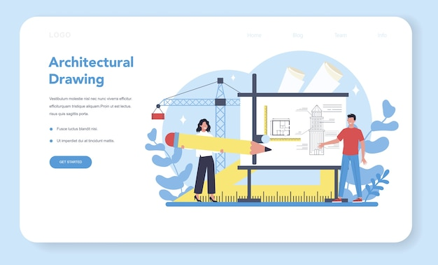 Архитектура веб-баннера или целевой страницы