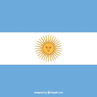 Argentina flag background