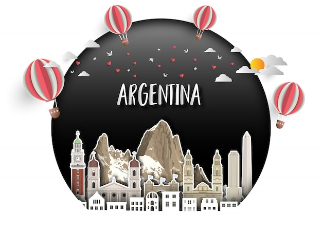 Argentina landmark