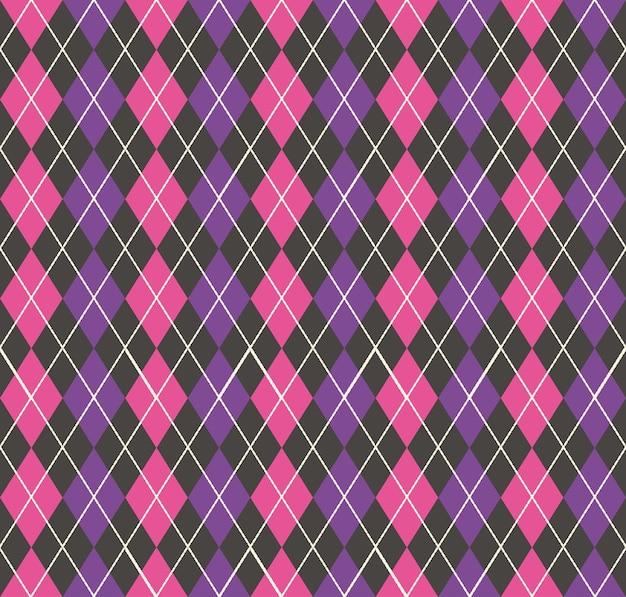 아가일 패턴, 기하학적 간단한 배경입니다. 우아하고 고급스러운 스타일의 일러스트레이션