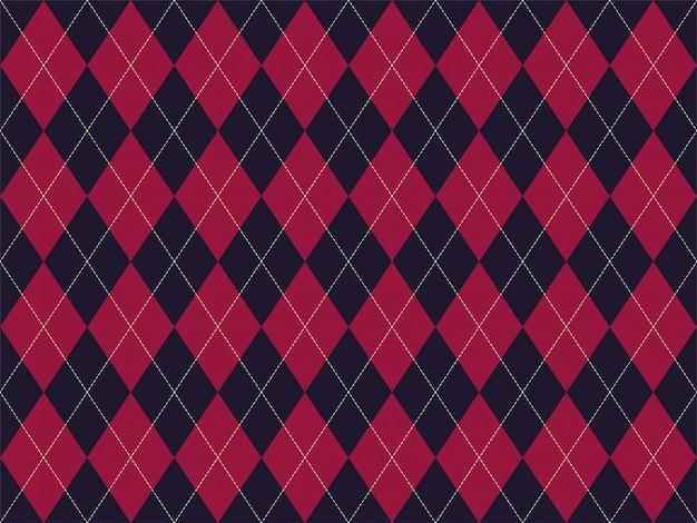 Argyle pattern seamless.   background. classic argill  ornament