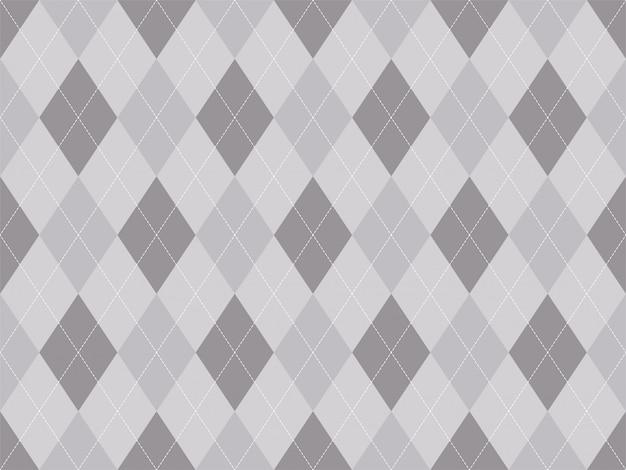 아가일 패턴 원활한입니다. 패브릭 질감 배경입니다. 클래식 아가일 장식