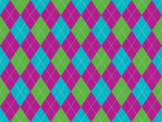 Argyle pattern seamless. fabric texture background. classic argill ornament