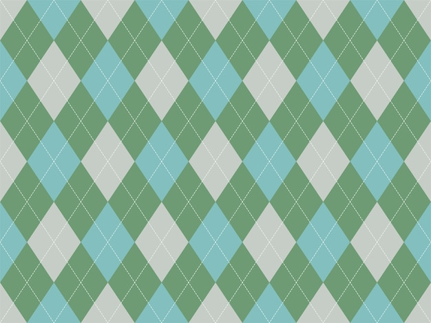 Argyle pattern seamless. fabric texture background. classic argill ornament.