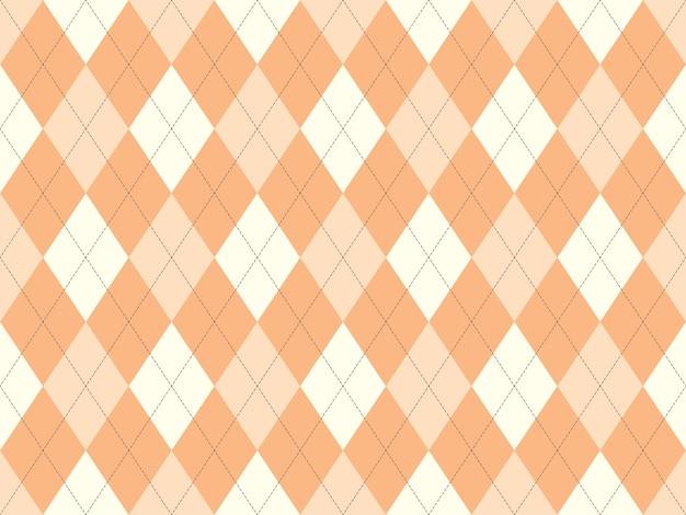 Бесшовные узор аргайл. предпосылка текстуры ткани. классический орнамент вектор аргилла.