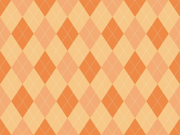 원활한 아가일 패턴입니다. 패브릭 질감 배경입니다. 클래식 아길 벡터 장식입니다.