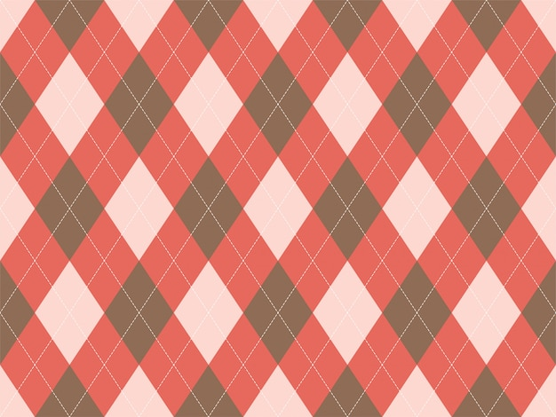 Argyle pattern seamless. fabric texture background. classic argill